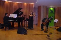 Concierto Auditorio Obra Social Caja Madrid Trio de Castañuelas, Guitarra y Piano - Diciembre 2006 Mar Bezana Castañuelas