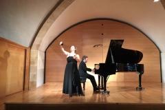 Concierto Cripta de l´Ermita Cambrils Dúo de Castañuelas y Piano - Octubre 2016 Mar Bezana