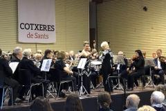 Concierto en las Cotxeras de Sants (Barcelona) con la Orquesta Amics de la Música - Mayo 2018 Mar Bezana castañuelas