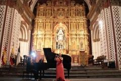 Concierto para la Embajada de España en Ecuador Dúo de Castañuelas y Piano - Octubre 2012