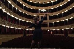 Teatro Solís de Montevideo (Uruguay) - Octubre 2016 Mar Bezana castañuelas