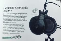 Castañuelas Capricho Granadillo Bezana. Fabricadas por Castañuelas del Sur.