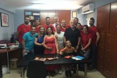 Mar Bezana visita la fábrica de Castañuelas del Sur - Mayo 2019