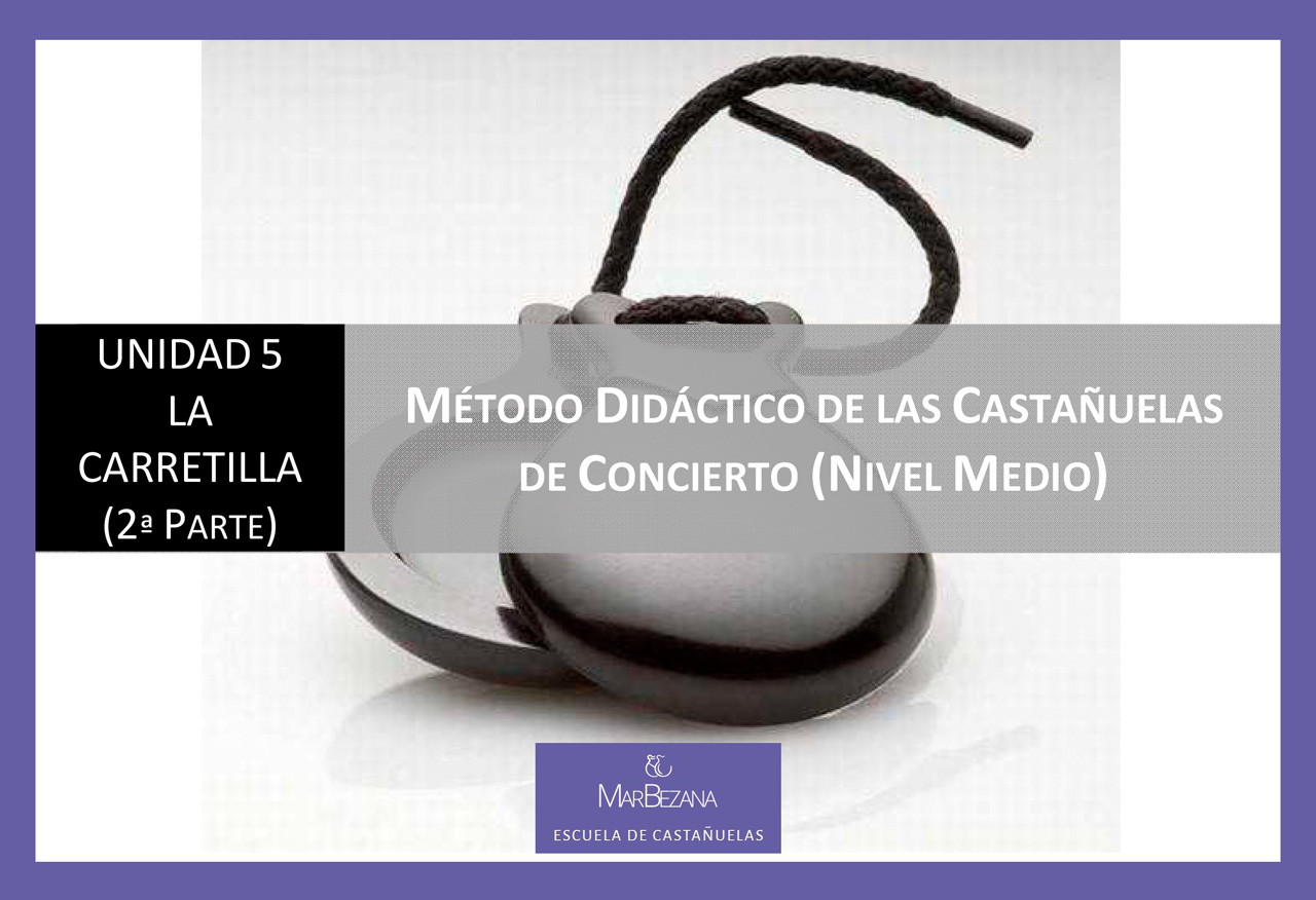 Unidad 5 - La carretilla (parte 2). Método didáctico de las castañuelas de concierto (Nivel Medio)