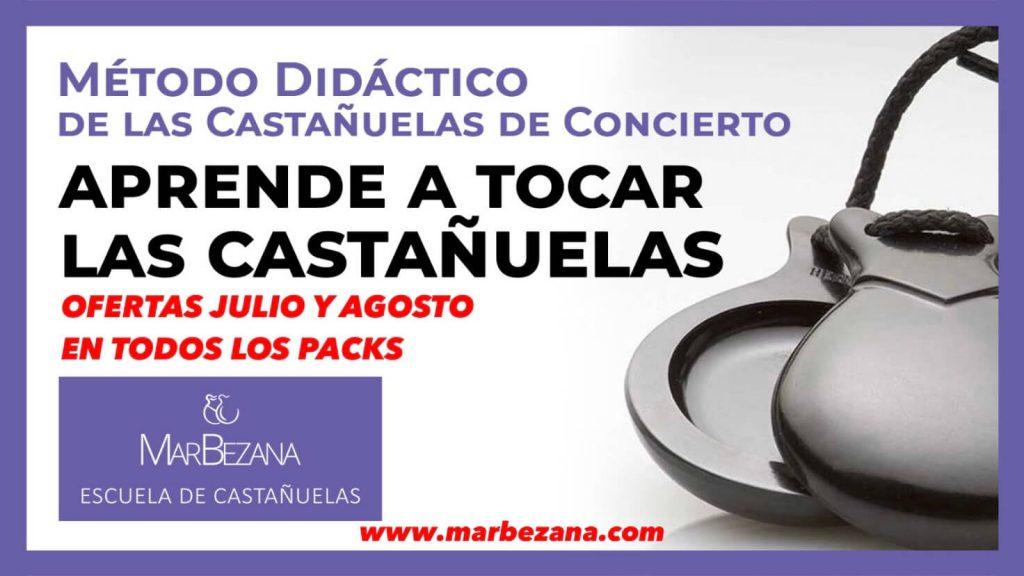Oferta de Verano Método Didáctico de las Castañuelas de Concierto