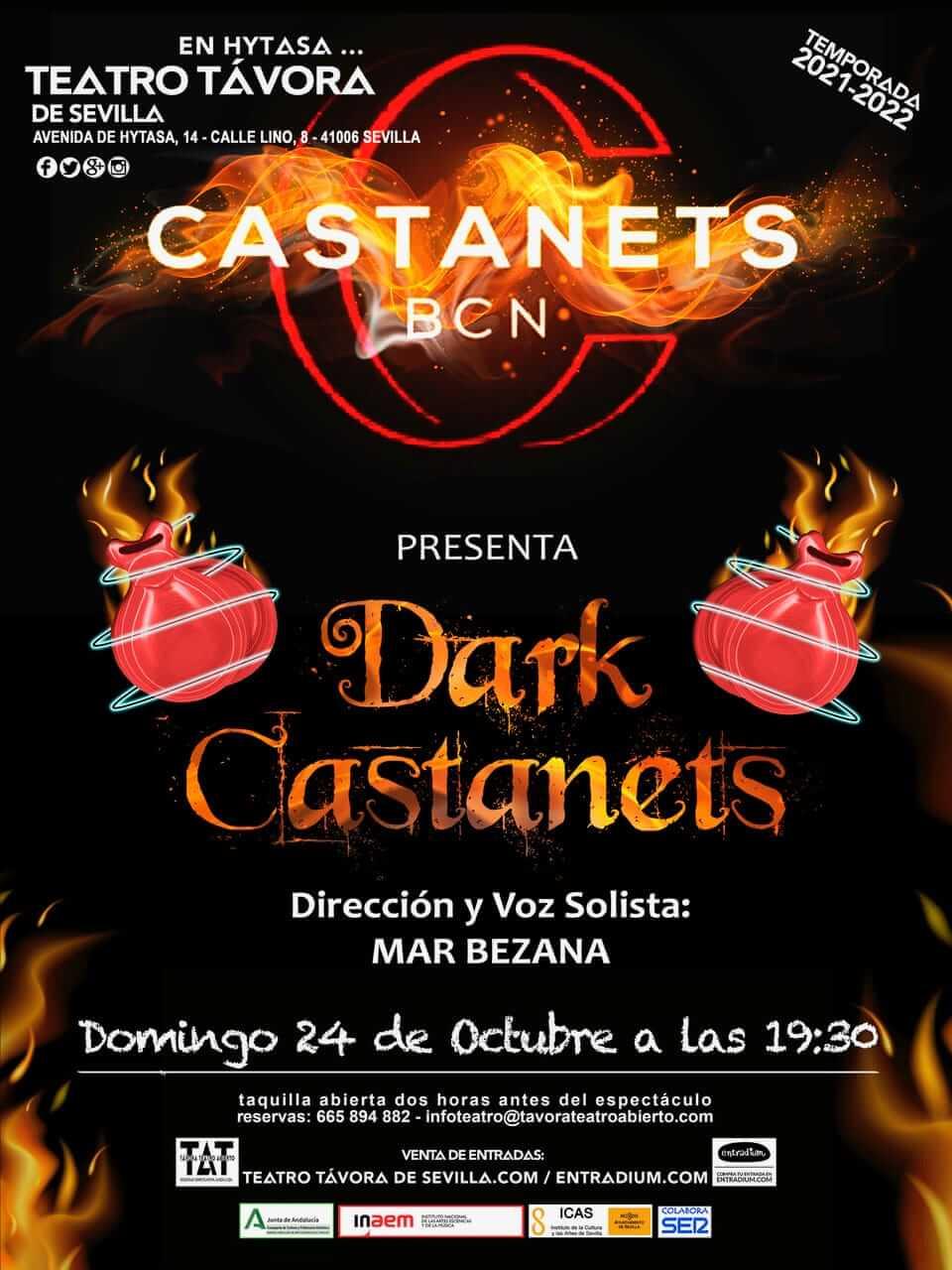CASTANETS BCN Teatro Salvador Távora Sevilla 24 de octubre