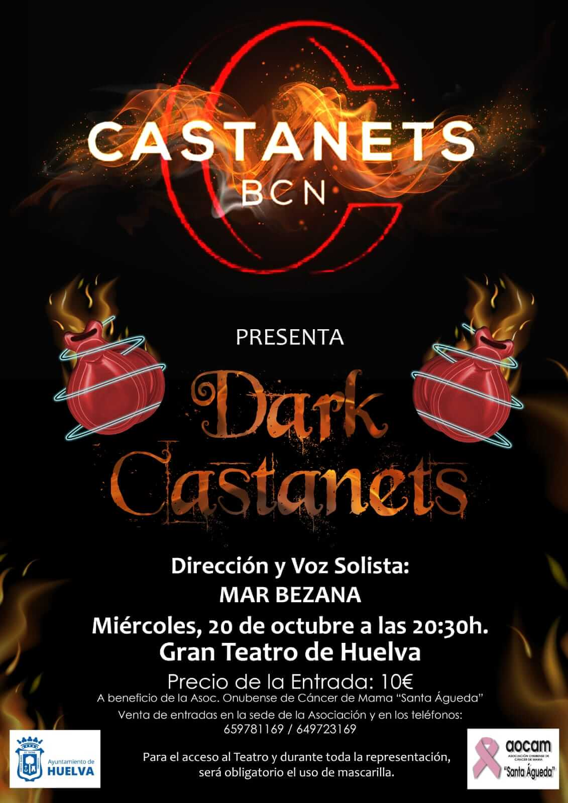 Castanets Bcn presenta DARK CASTANETS en el Gran Teatro de Huelva 20 de octubre de 2021